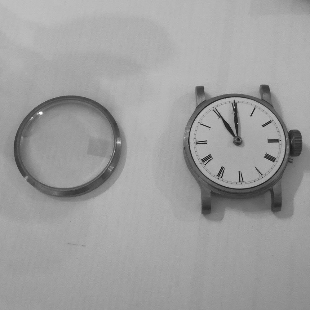 The watch arrived and is disassembled and inspected.