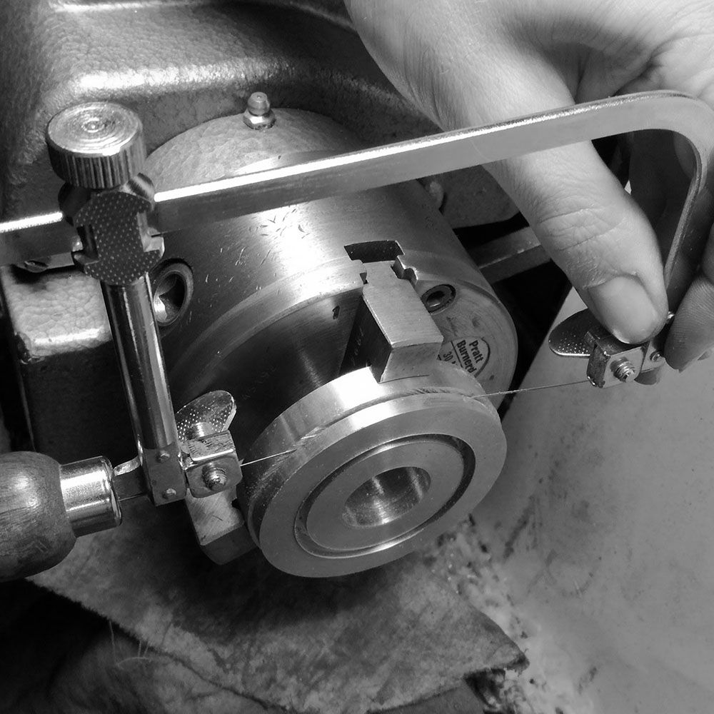 Continued in the Myford lathe.