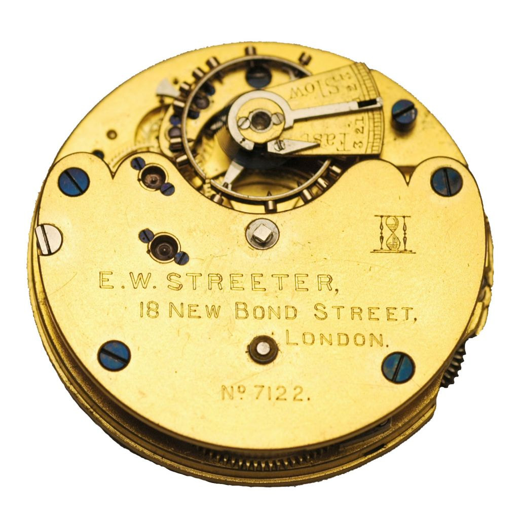 E. W. Streeter, 18 New Bond Street, London, No. 7,122, ca. 1913 Coggiola Watch Roma