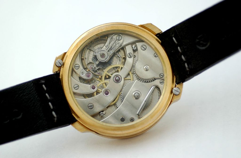 LeCoultre Lepine Watch, ca. 1890s, Coggiola Watch Roma Independent Watchmaker.